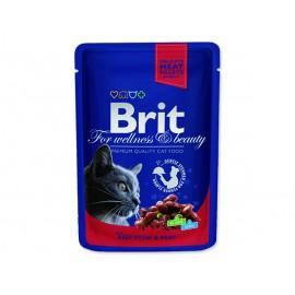 Kapsička BRIT Premium Cat Beef Stew & Peas 100g
