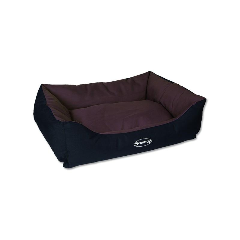 Scruffs Pelíšek SCRUFFS Expedition Box Bed čokoládový L 1ks