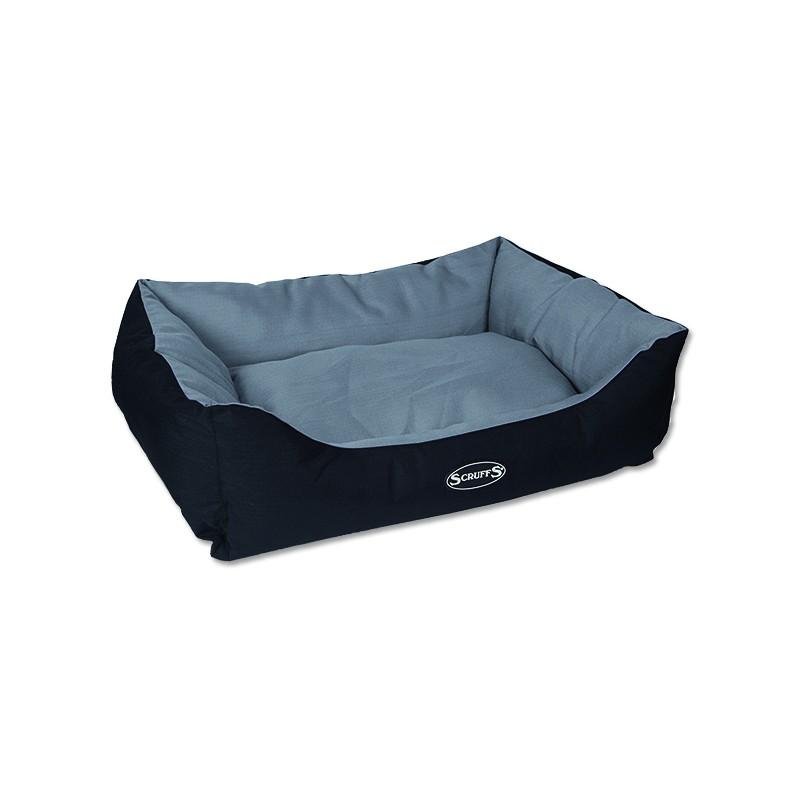 Scruffs Pelíšek SCRUFFS Expedition Box Bed šedivý L 1ks