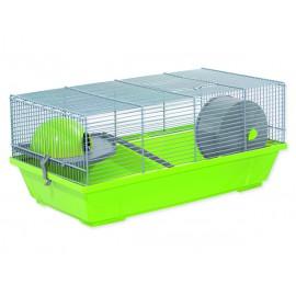 Klec SMALL ANIMALS Erik šedo-zelená se šedou výbavou 1ks