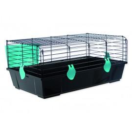 Klec SMALL ANIMALS Michal černá s modrou výbavou 1ks