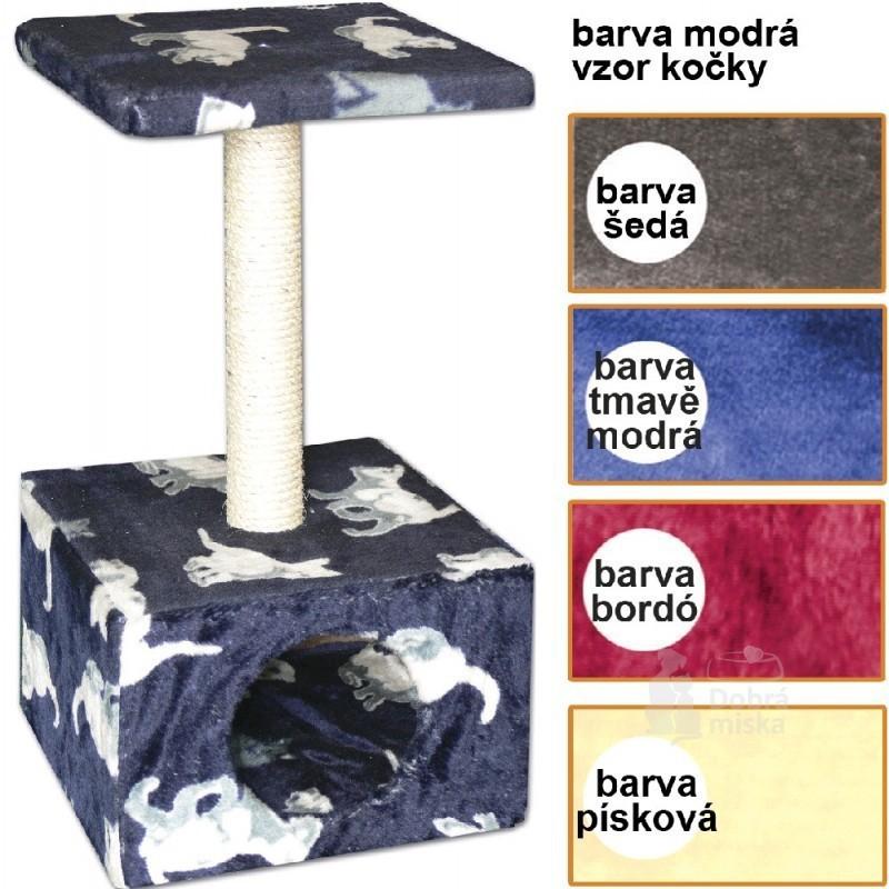 Tommi CZ s.r.o. Škrábadlo Carmen tmavě modré 30x30x57