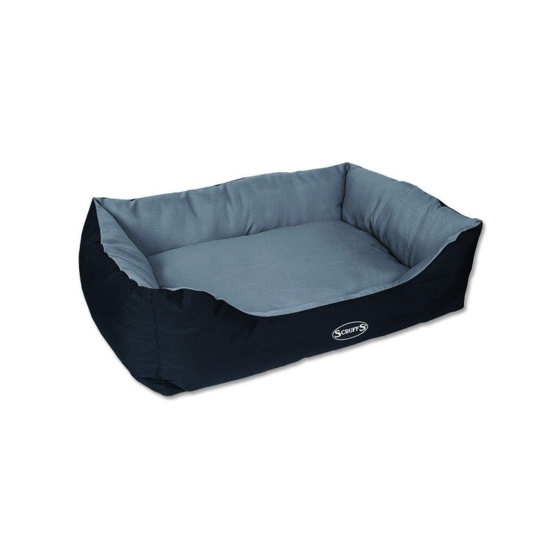 Scruffs Pelíšek SCRUFFS Expedition Box Bed šedivý XL 1ks