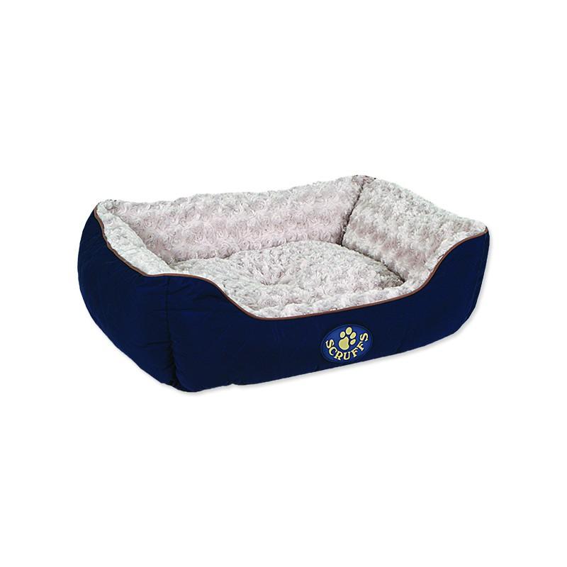 Scruffs Pelíšek SCRUFFS Wilton Box Bed modrý M 1ks