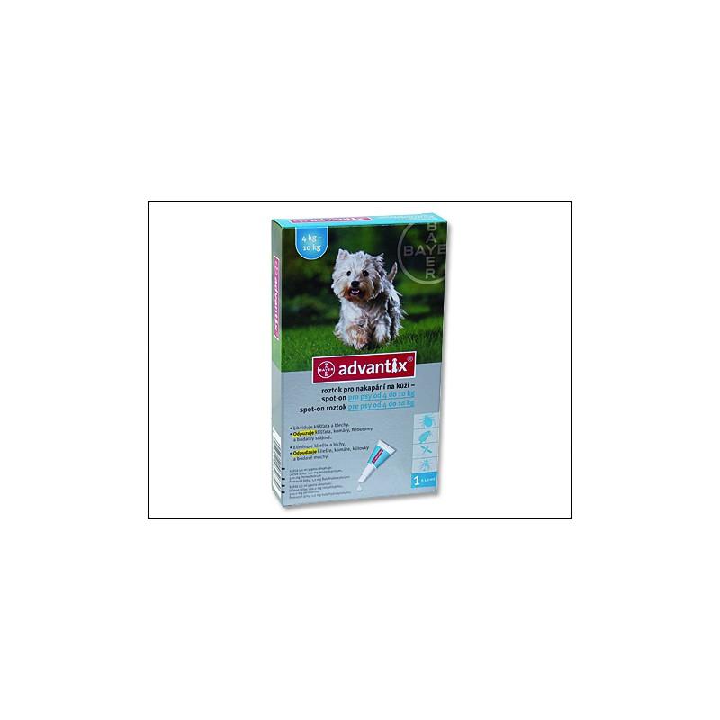 BAYER Animal Health BAYER Advantix Spot-On pro psy 4 - 10 kg 1ml