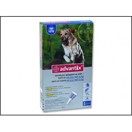 BAYER Advantix Spot-On pro psy nad 25 kg 4ml
