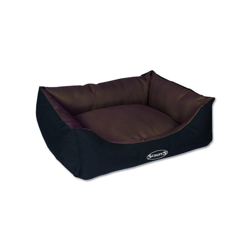 Scruffs Pelíšek SCRUFFS Expedition Box Bed čokoládový M 1ks