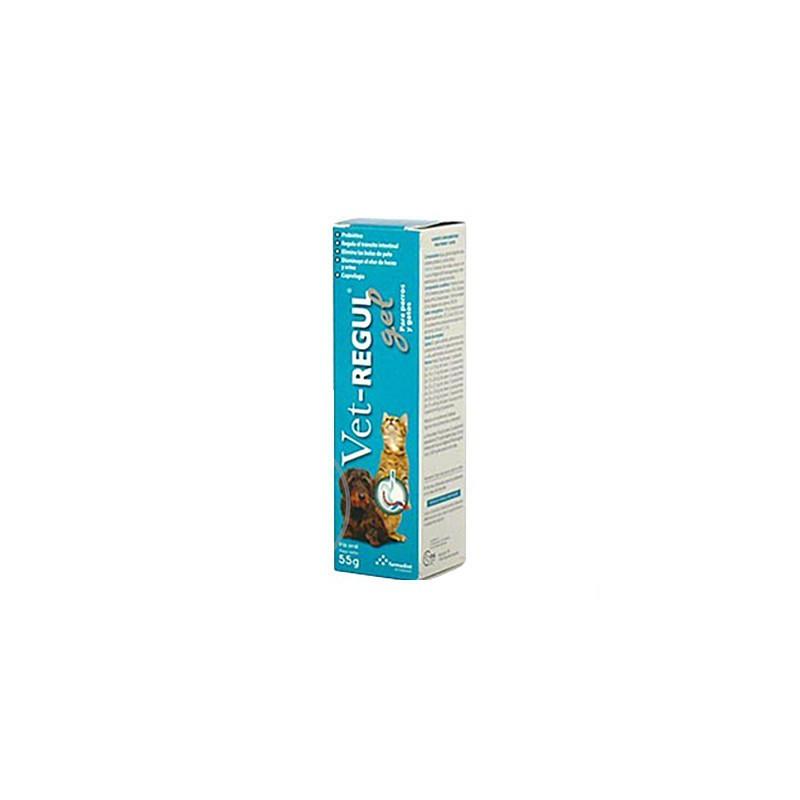 Eurocat s.r.o. VET- REGUL gel pro psy a kočky 55g dávkovač