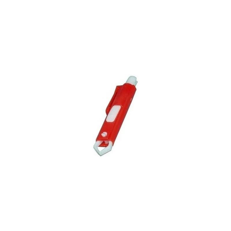 KRUUSE Kleště na klíšťata plast červené Kruuse 1ks