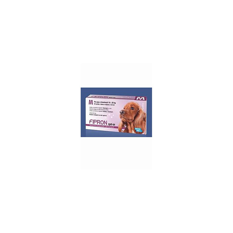 BIOVETA IVANOVICE NA HANE Fipron 134mg Spot-On Dog M sol 1x1,34ml