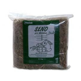Seno ZOO BOX krmné lisované 2,5kg