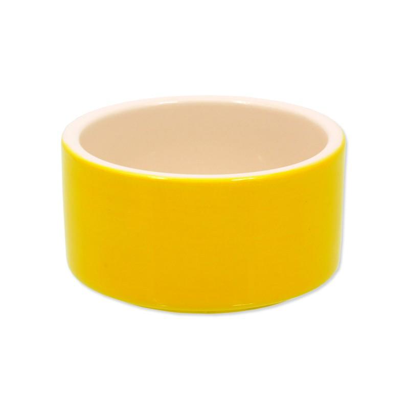 PLAČEK Miska SMALL ANIMALS keramická pro králíky žlutá 10 cm 1ks