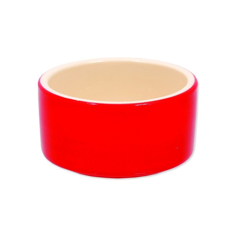 PLAČEK Miska SMALL ANIMALS keramická pro králíky červená 10 cm 1ks