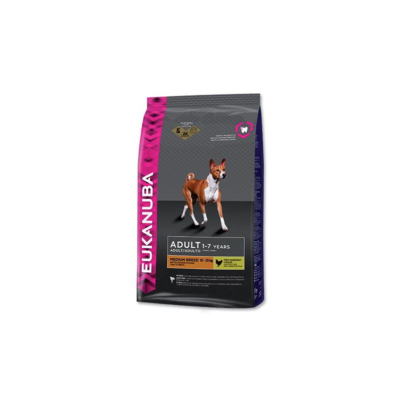 PG EUKANUBA Adult Medium Breed 15kg