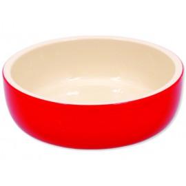 Miska MAGIC CAT keramická červená 14,5 cm 1ks