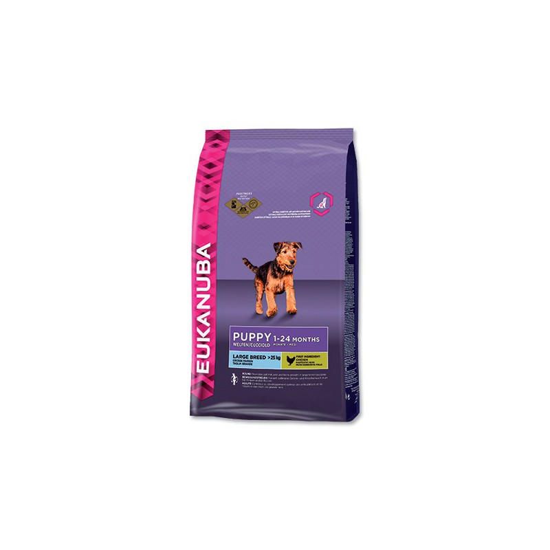 PG EUKANUBA Puppy & Junior Large Breed 15kg