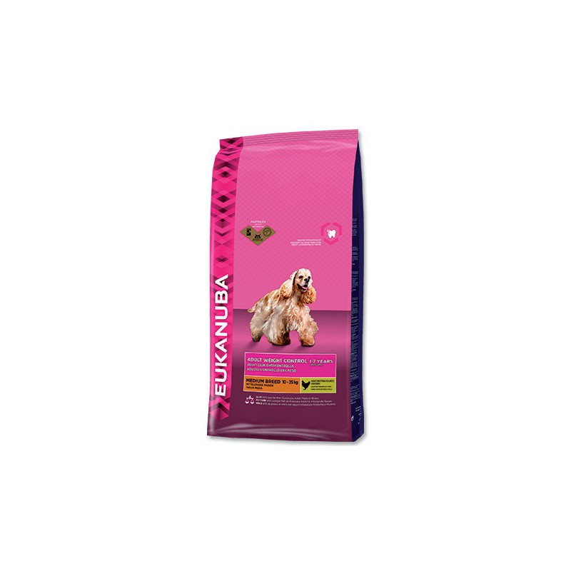 Eukanuba komerční, Iams EUKANUBA Adult Medium Light / Weight Control 3kg
