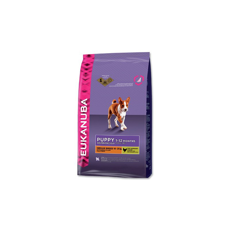 PG EUKANUBA Puppy & Junior Medium Breed 3kg