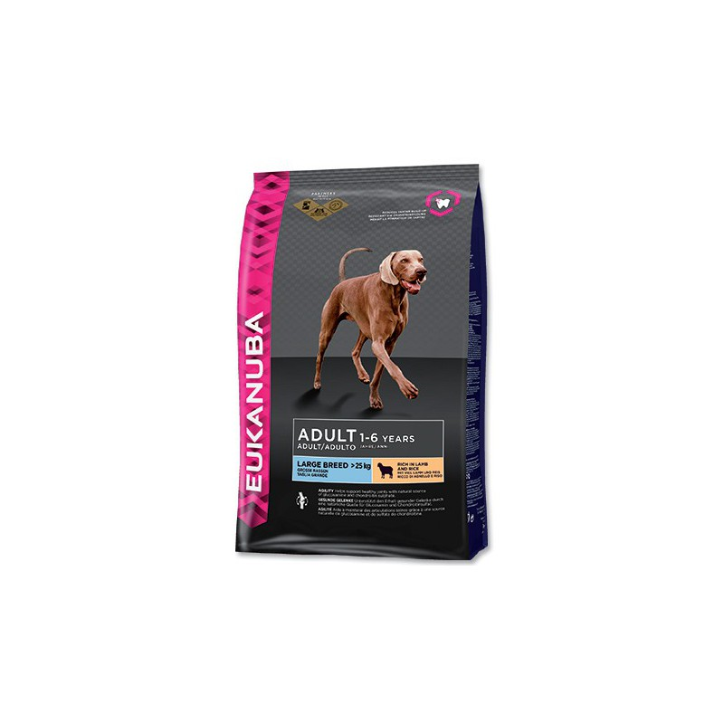 PG EUKANUBA Adult Large Breed Lamb & Rice 12kg