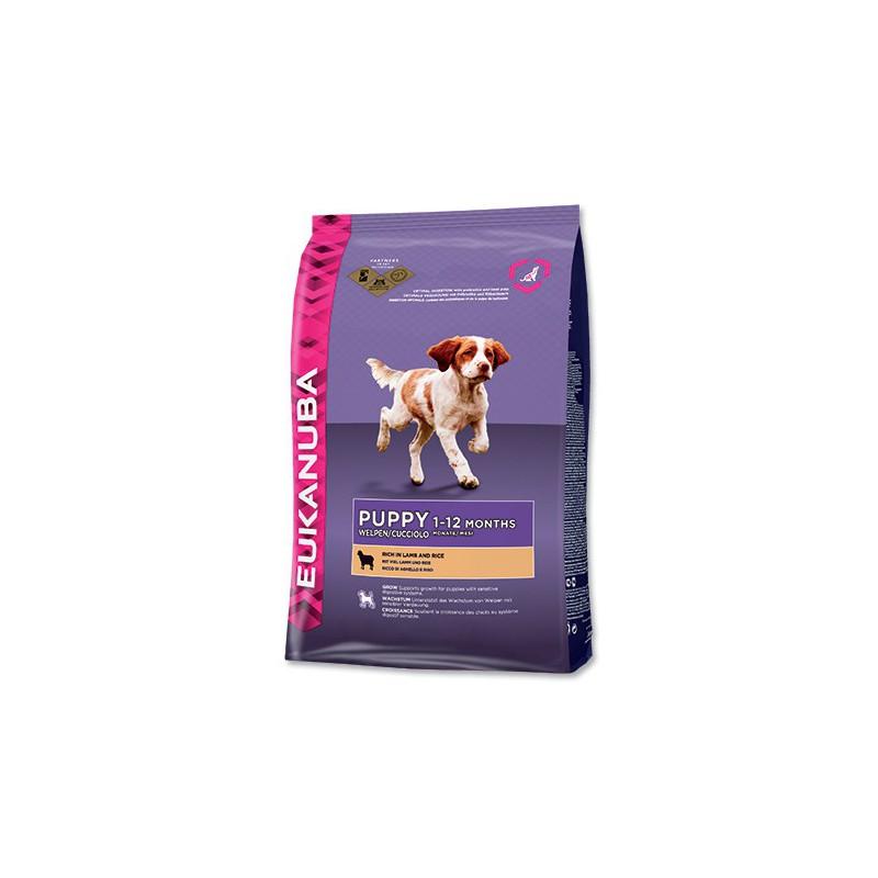 Eukanuba komerční, Iams EUKANUBA Puppy & Junior Lamb & Rice 12kg