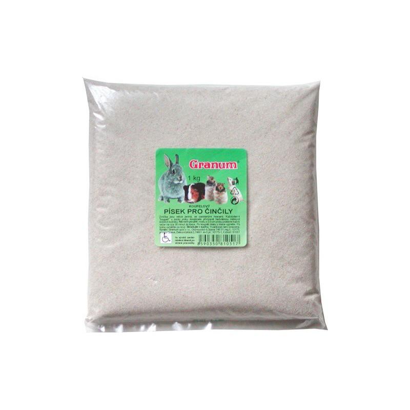 SAMOHYL Písek koupací pro činčily Granum 1 kg