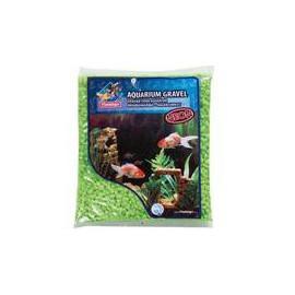 Písek akvarijní Neon zelený Flamingo 1 kg 4 -7 mm