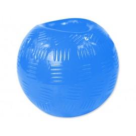 Hračka DOG FANTASY Strong míček gumový modrý 8,9 cm 1ks