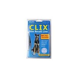 Vodítko stopovací popruh černé Clix 10 m