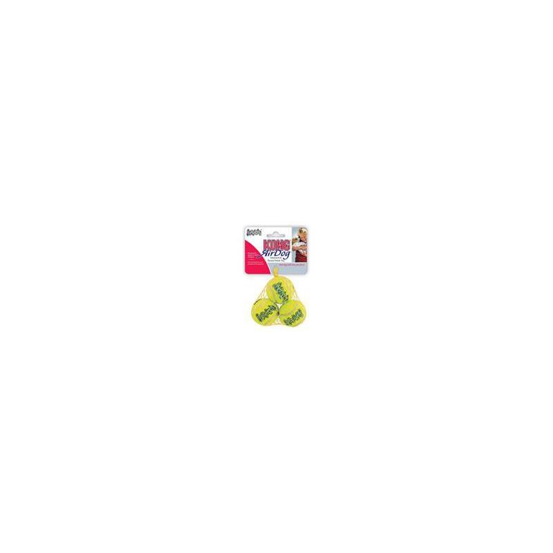 SAMOHYL Hračka tenis Air dog Míč malý Kong 3 ks extra small
