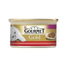 Gourmet Gold konzerva - duš.a gril.k. hov. a kuře 85 g