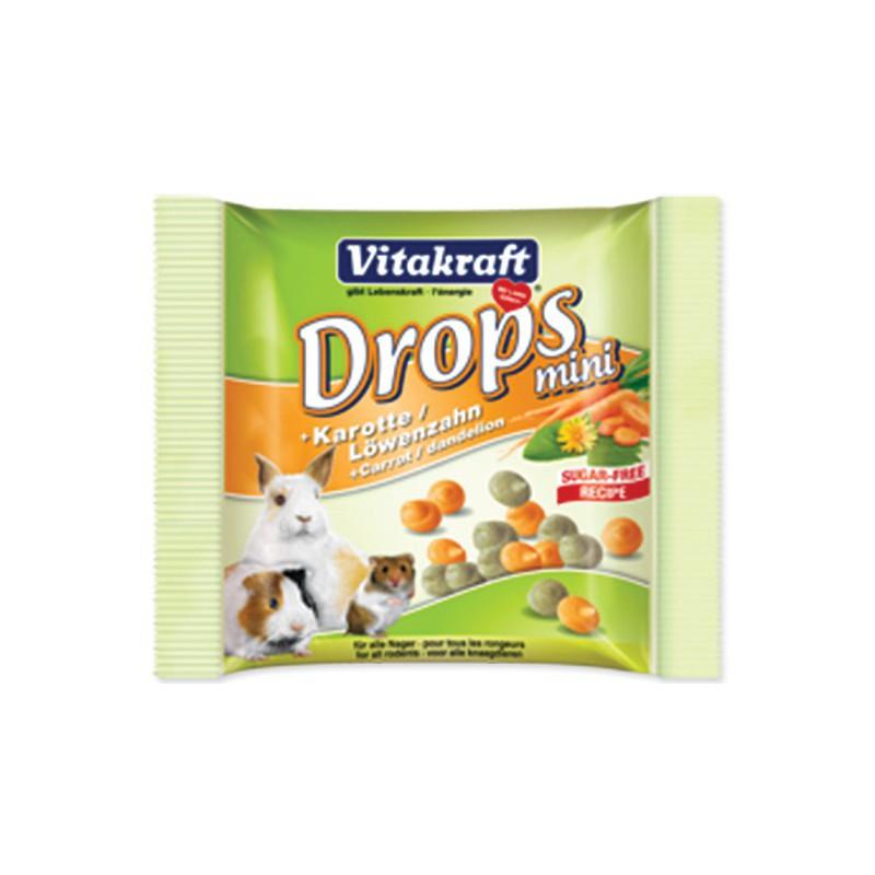 Vitakraft Drops VITAKRAFT Happy Karotte Rabbit 40g