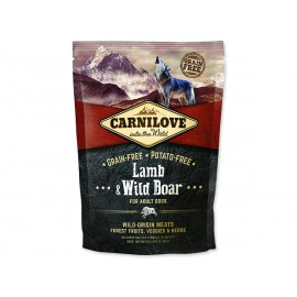 CARNILOVE Lamb & Wild Boar for Dog Adult 1,5kg
