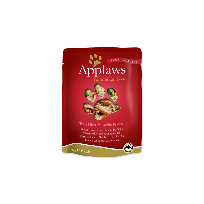 ALPHATECH Kapsička APPLAWS Cat Tuna & Pacifc Prawn 70g