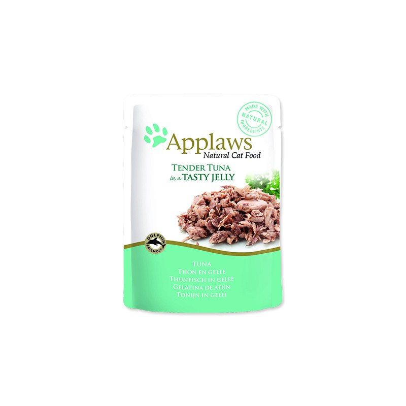 ALPHATECH Kapsička APPLAWS Cat Pouch Tuna Wholemeat in Jelly 70g
