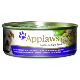 Konzerva APPLAWS Dog Chicken, Vegetables & Rice 156g