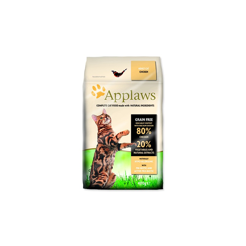 ALPHATECH APPLAWS Dry Cat Chicken 400g