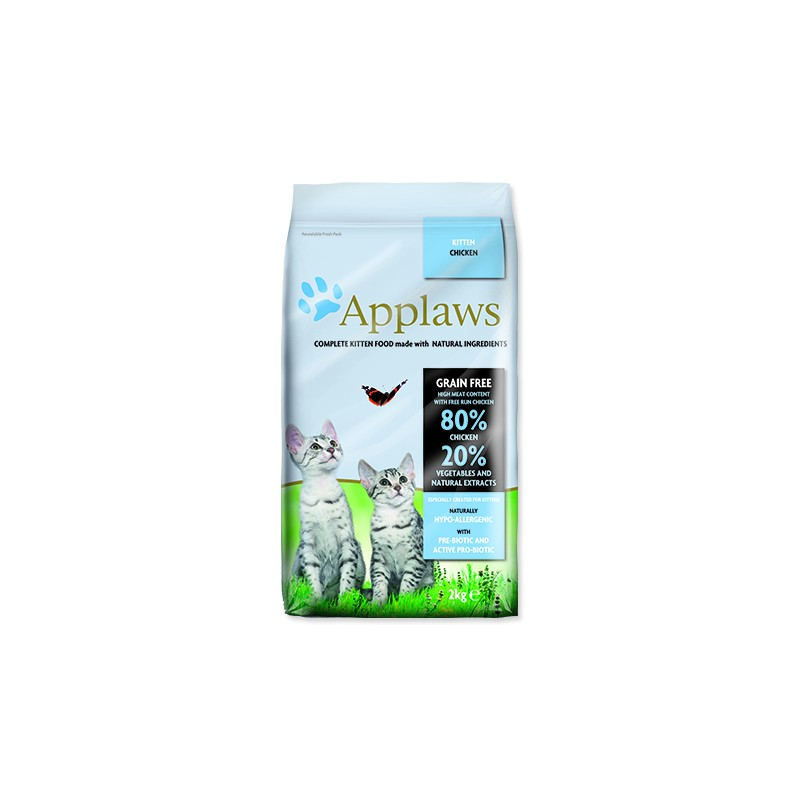 ALPHATECH APPLAWS Dry Kitten 2kg