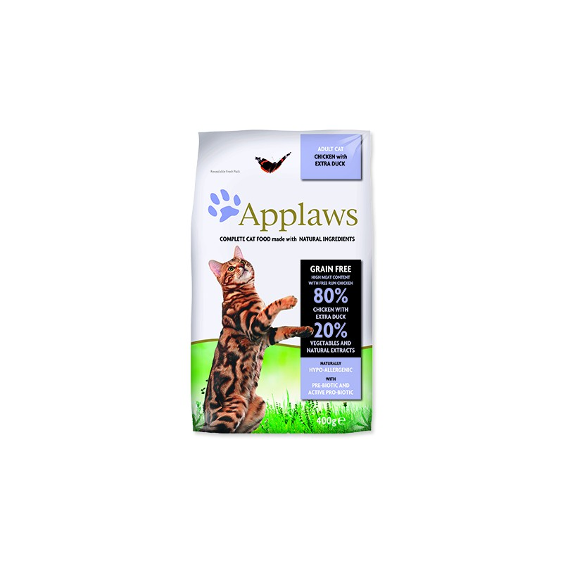 ALPHATECH APPLAWS Dry Cat Chicken with Duck 400g