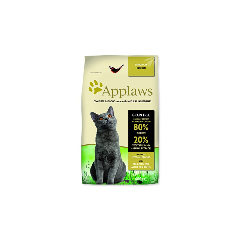 ALPHATECH APPLAWS Dry Cat Senior 400g