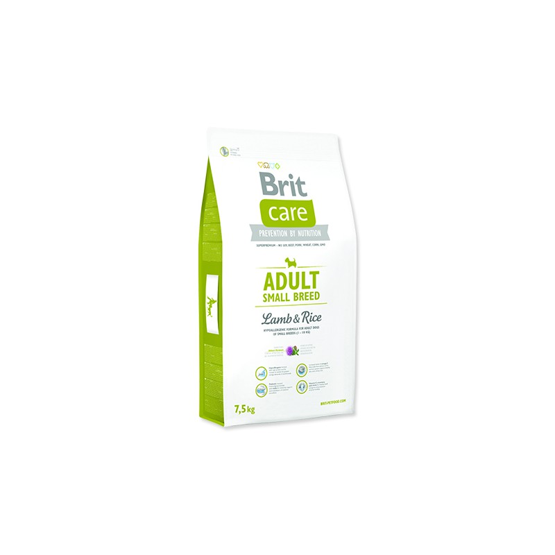 BRIT Dry Dog Care BRIT Care Dog Adult Small Breed Lamb & Rice 7,5kg