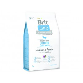BRIT Care Grain-free Junior Large Breed Salmon & Potato 3kg