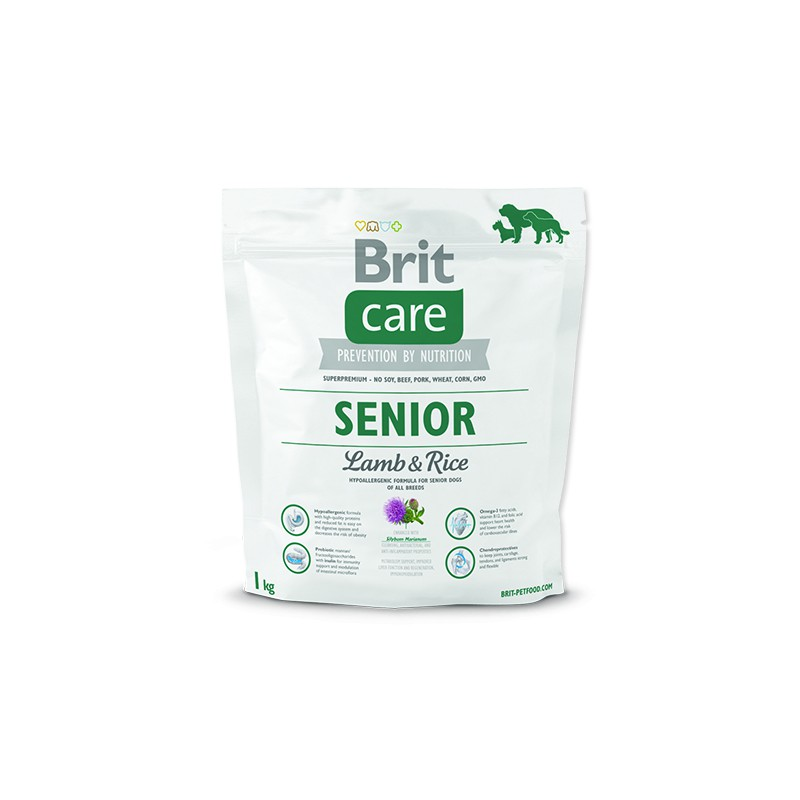 BRIT Dry Dog Care BRIT Care Senior Lamb & Rice 1kg