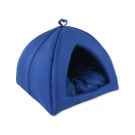 Kukaň DOG FANTASY Basic tmavě modrá 62 cm 1ks
