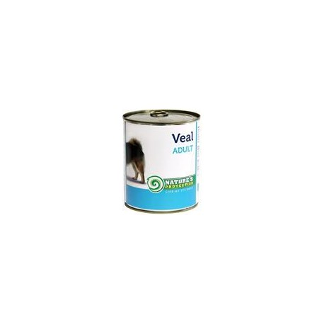 Nature's Protection Dog konzerva Adult telecí 800 g