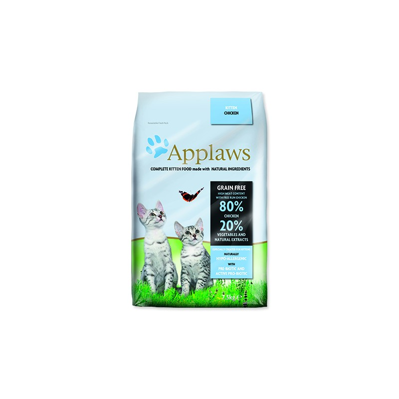 ALPHATECH, APPLAWS APPLAWS Dry Kitten 7,5kg