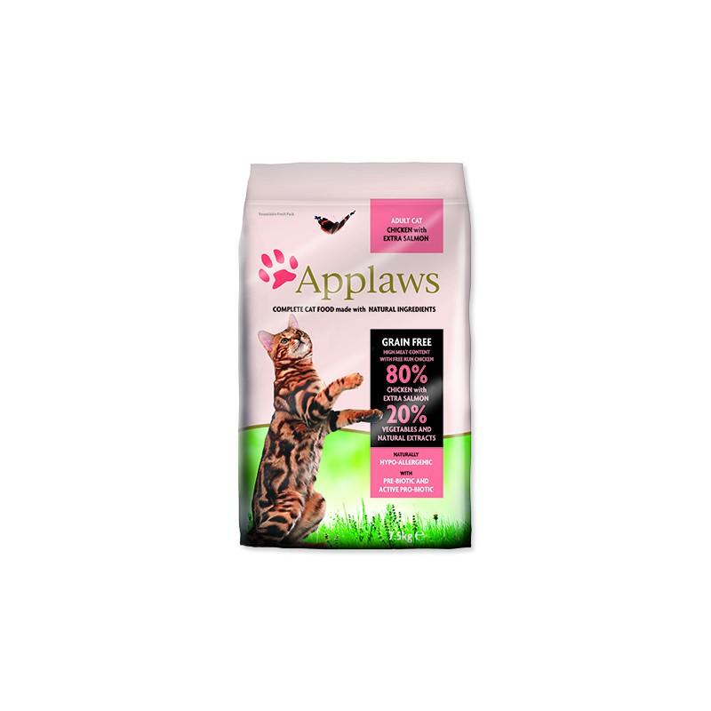 ALPHATECH, APPLAWS APPLAWS Dry Cat Chicken & Salmon 7,5kg