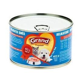 GRAND konz. štěně speciální mas.směs 405g