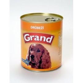 GRAND konz. pes drůbeží 850g