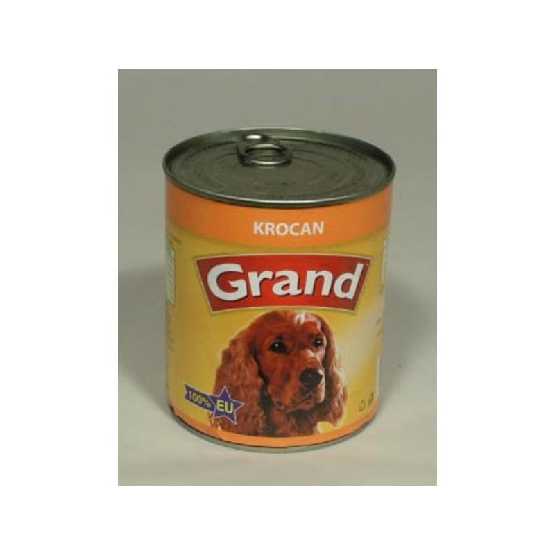 Jeseničan s.r.o. GRAND konzerva pes krocaní 850 g