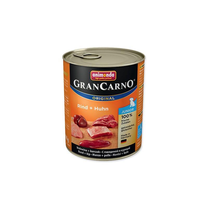 Askino Konzerva ANIMONDA Gran Carno Junior hovězí + kuře 800g